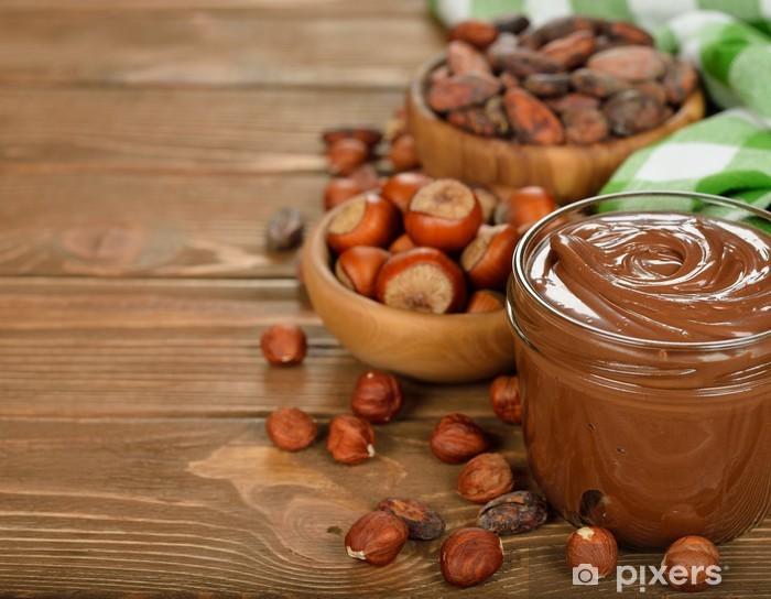 Naklejka Pixerstick Pasty czekoladowe - Słodycze i desery