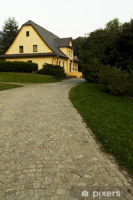 Pixerstick Aufkleber Park - Berge