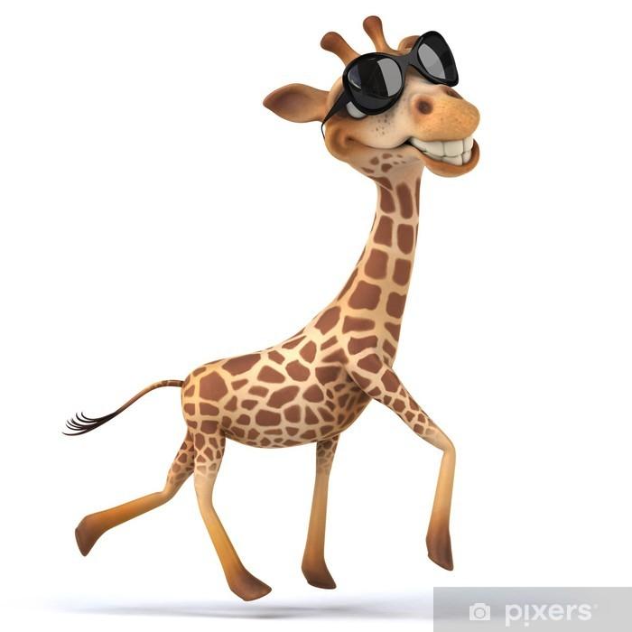Fototapeta winylowa Zabawa żyrafa - Znaki i symbole