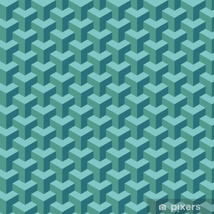 Naklejka Pixerstick Light Blue geometryczny wzór - Ssaki