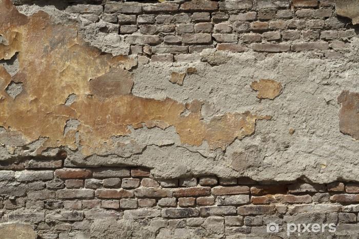 Fotomural Estándar Pintado pared de ladrillo antiguo - Temas