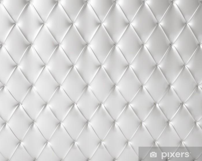 Pixerstick Sticker Witte zijdeachtige luxe dichtgeknoopt patroon - Verkoop