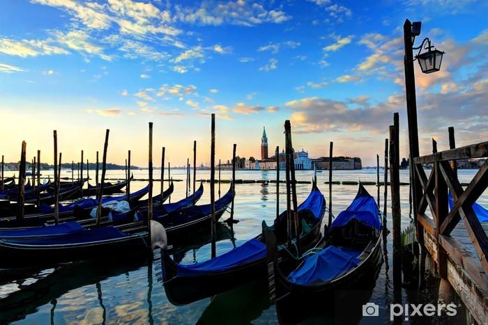 Vinyl-Fototapete Venedig Sonnenaufgang - Themen