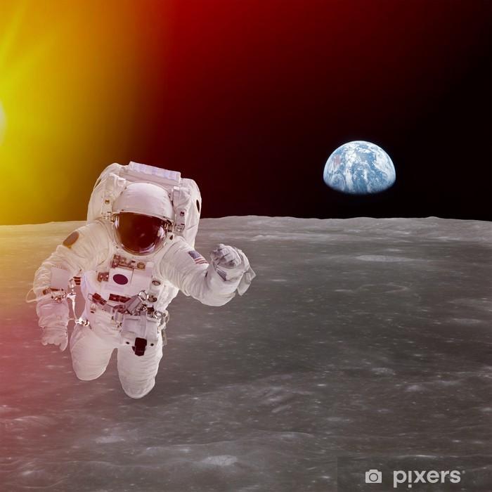 Papier peint vinyle Haute qualité isolé astronaute composite dans l'espace; des éléments de - Espace