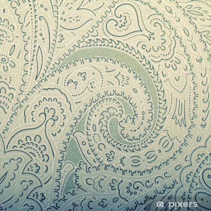 Vintage wallpaper background with vignette victorian pattern Vinyl Wall Mural - Textures