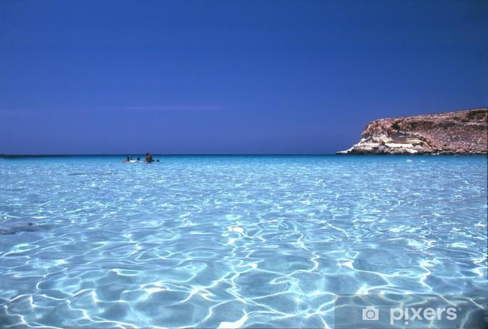 Vinilo Pixerstick Lampedusa - Europa