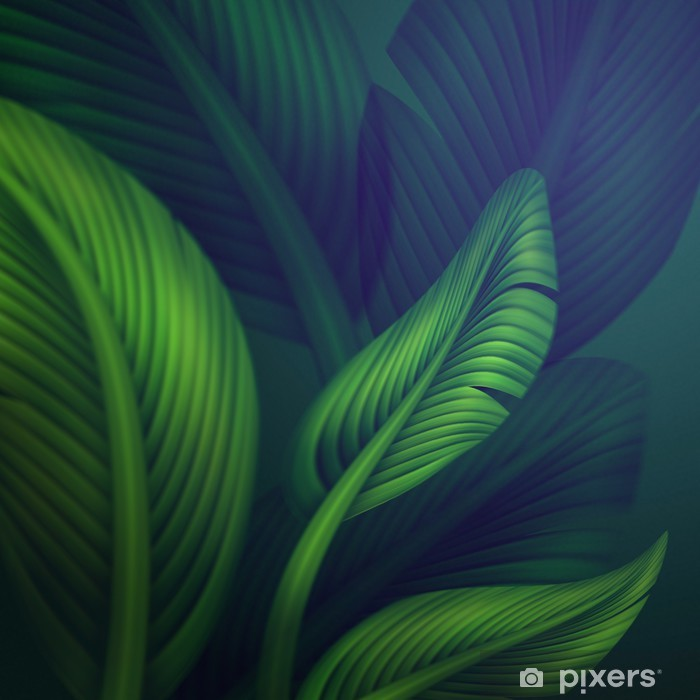Tropical Green Jungle Leaves Background Illustration Wall Mural Pixers We Live To Change 28,000+ vectors, stock photos & psd files. tropical green jungle leaves background illustration wall mural pixers we live to change