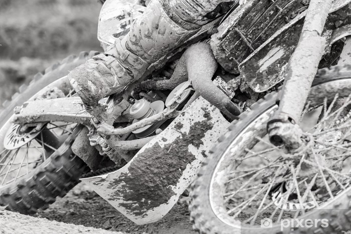 Motocross Pixerstick Sticker - Extreme Sports