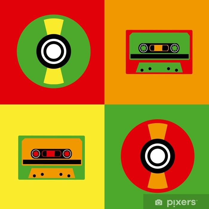 Sticker Pixerstick Conception Pop Art - Autres objets