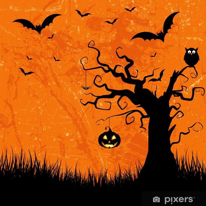 Fotomural Estándar Halloween grunge fondo - Celebraciones internacionales