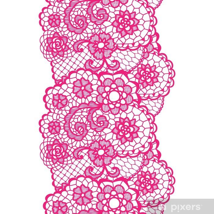 Sticker Pixerstick L'équilibre de dentelle vintage. - Finance