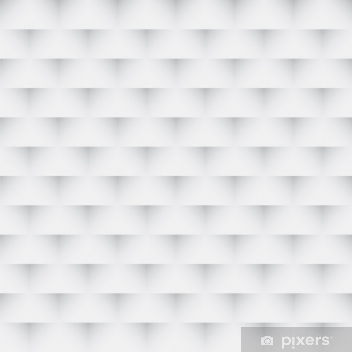 Abstrakt grå og hvid sømløs tekstur Vinyl fototapet - Abstrakt