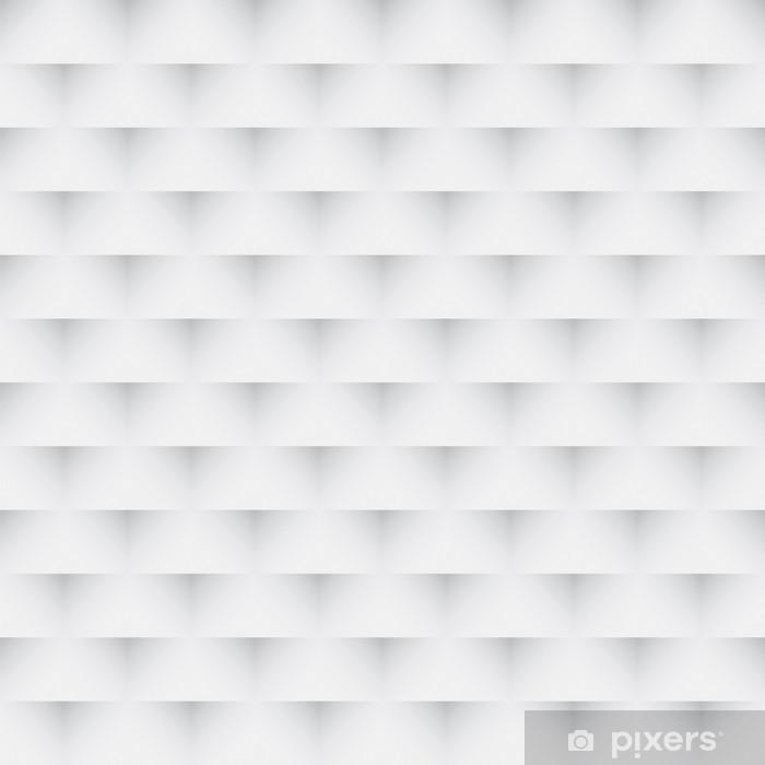 Naklejka Pixerstick Abstrakcyjna szary i biały bez szwu tekstury - Abstrakcja