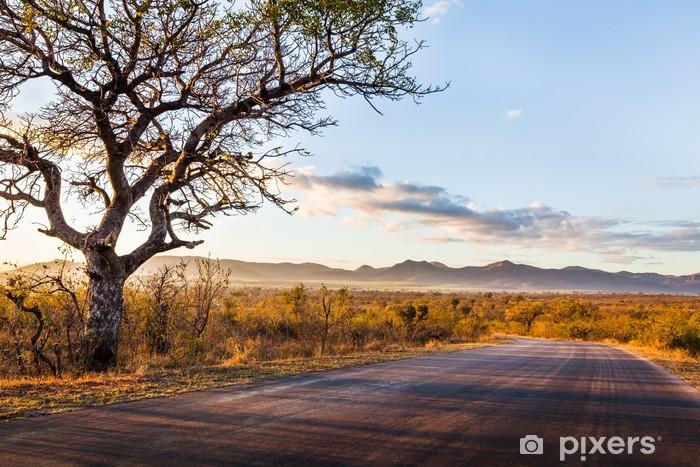 Fototapeta winylowa Afrykański krajobraz - Tematy