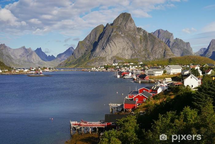 Vinyl Fotobehang Lofoten, Noorwegen - Thema's