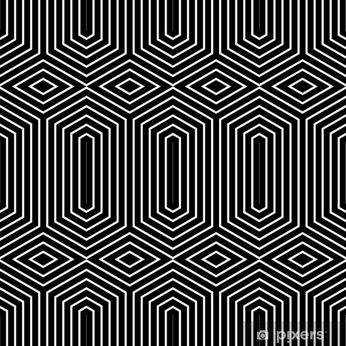 Plakat Geometryczny wzór powtarzalne - Tła