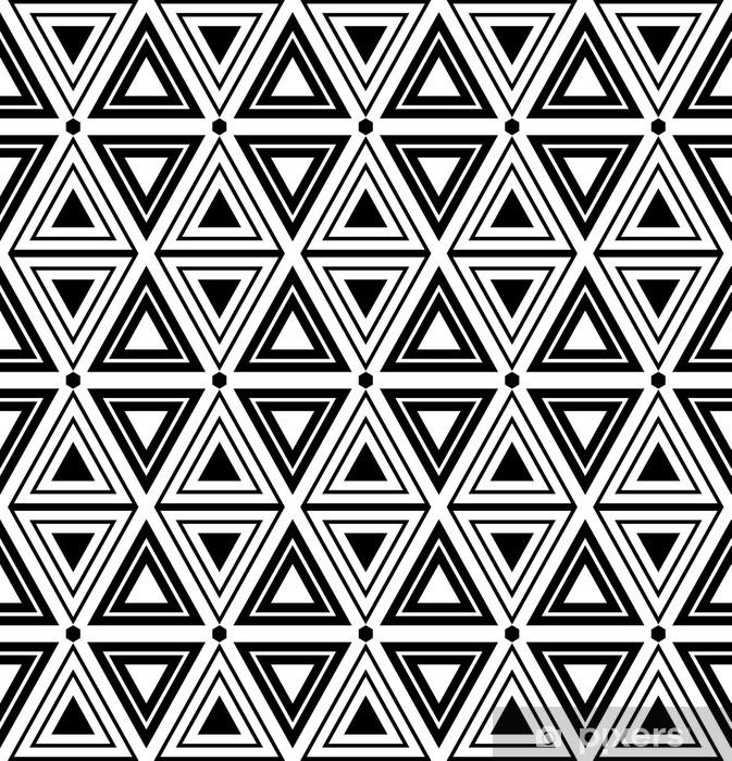 Papier peint vinyle Triangles et diamants texture. Motif géométrique Seamless. - Thèmes