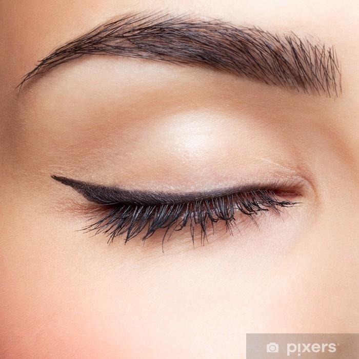 Naklejka Pixerstick Strefa makijaż oczu - Części ciała