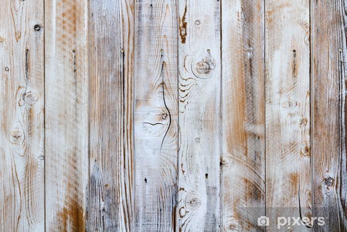 Western Wood Texture Pixerstick Sticker - Themes