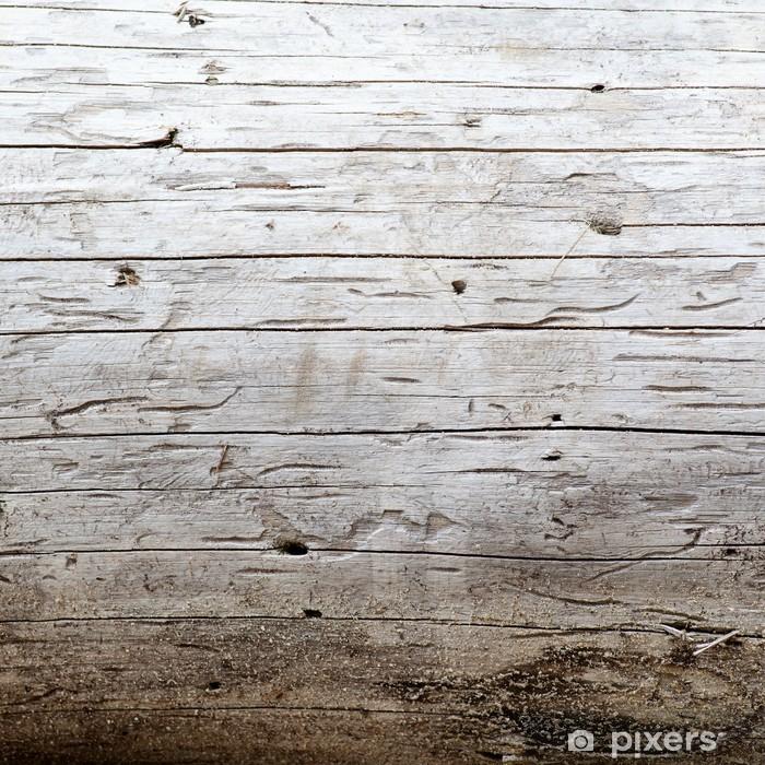 Poster Oude houtstructuur - Texturen