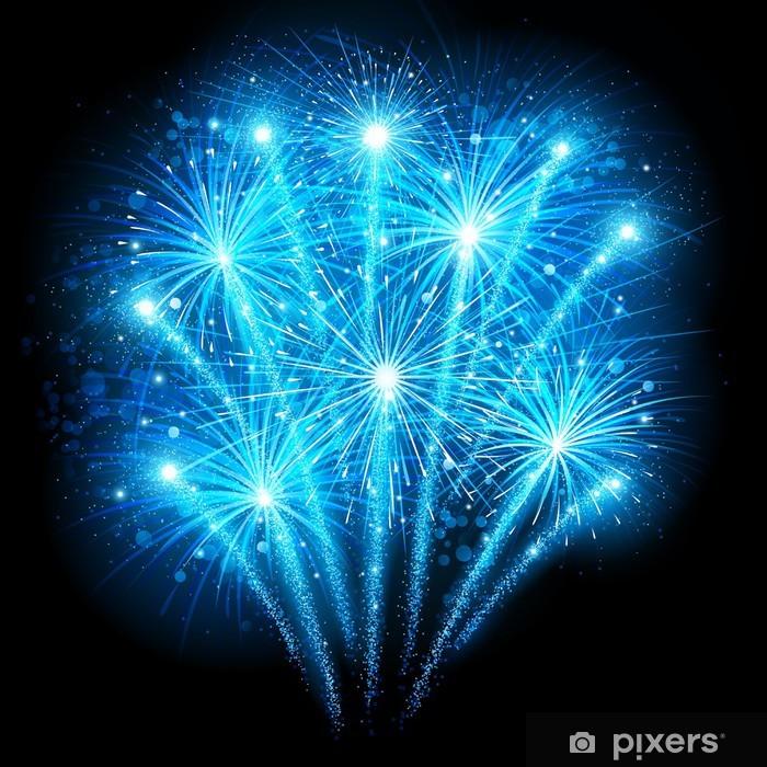 Naklejka Pixerstick Wakacje fajerwerki - Święta międzynarodowe
