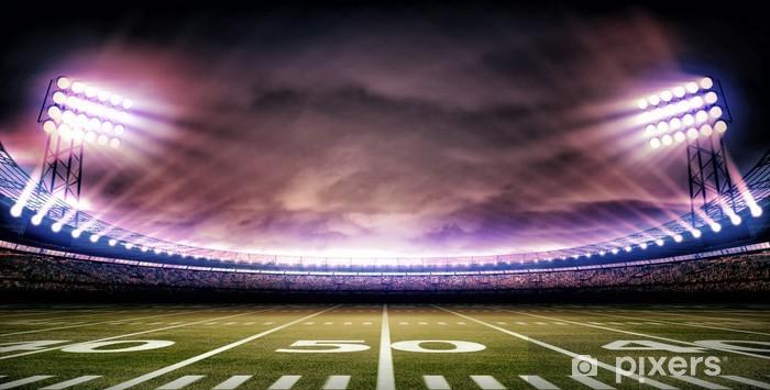 Adesivo Pixerstick Stadio americano - Football Americano