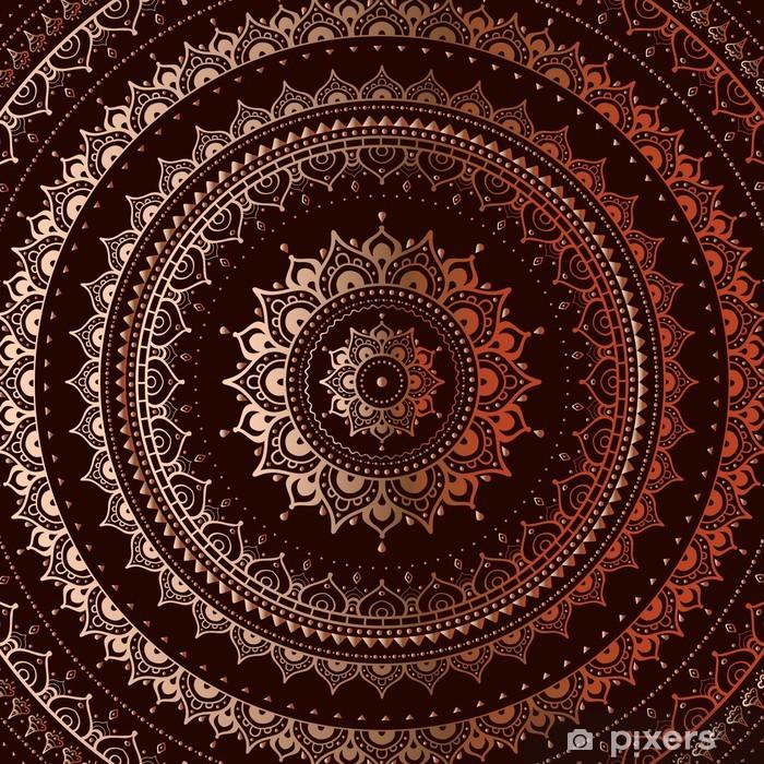 Poster Oro mandala - Stili