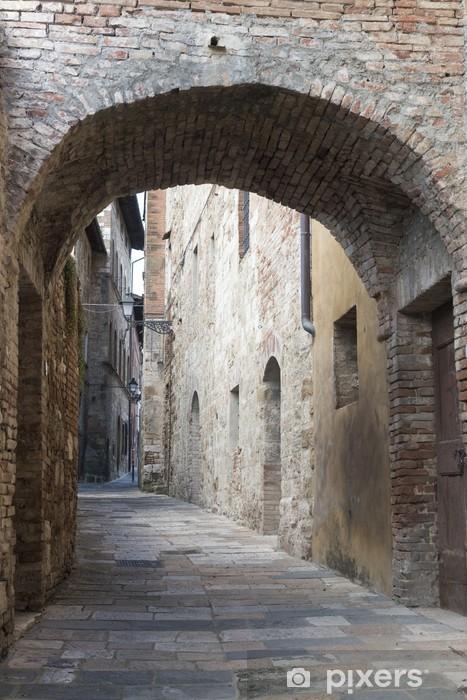 Naklejka Pixerstick Colle di Val d'Elsa (Toskania) - Pejzaż miejski