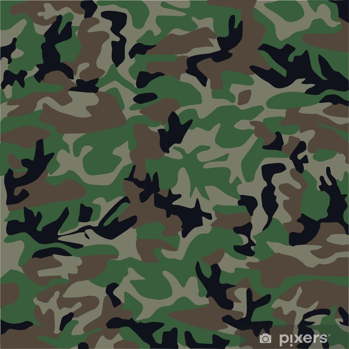 camouflage pattern Poster - Themes