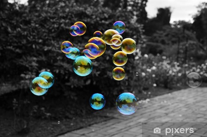 Papier peint vinyle Bubbles - Eau
