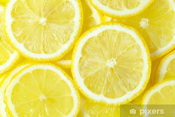 Fototapeta winylowa Cytryny - Przeznaczenia