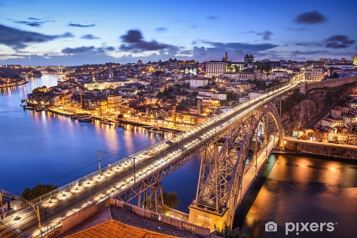 Fototapeta winylowa Porto, Portugalia Dom Luis Most na - Tematy
