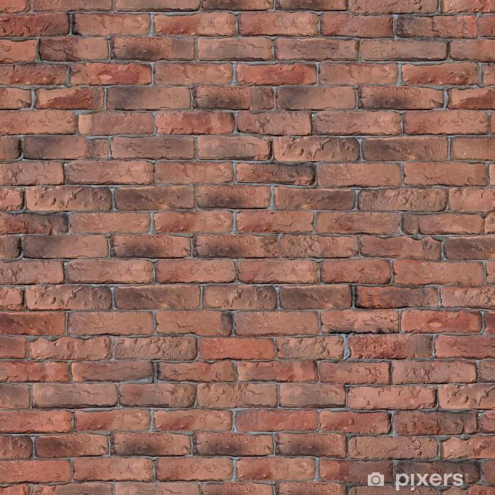 Carta da parati vecchi mattoni rossi texture muro pixers for Carta da parati muro mattoni