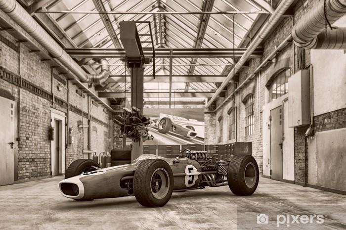 Papier peint vinyle Cascene 110 - Formule Un