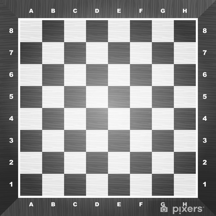 Empty chess board Vinyl Wall Mural - Business Situations