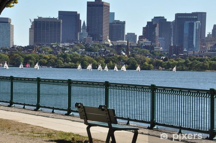 Papier peint vinyle Boston Harbor - Amérique