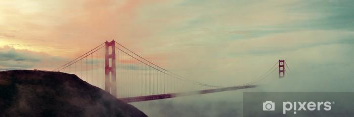 Papier peint vinyle Golden gate bridge - Autres