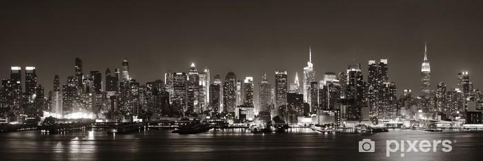 Naklejka Pixerstick Midtown Manhattan Skyline -