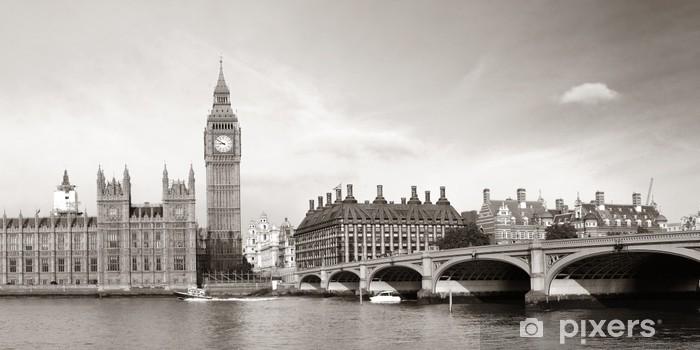 Fototapeta winylowa Londyn skyline - Tematy