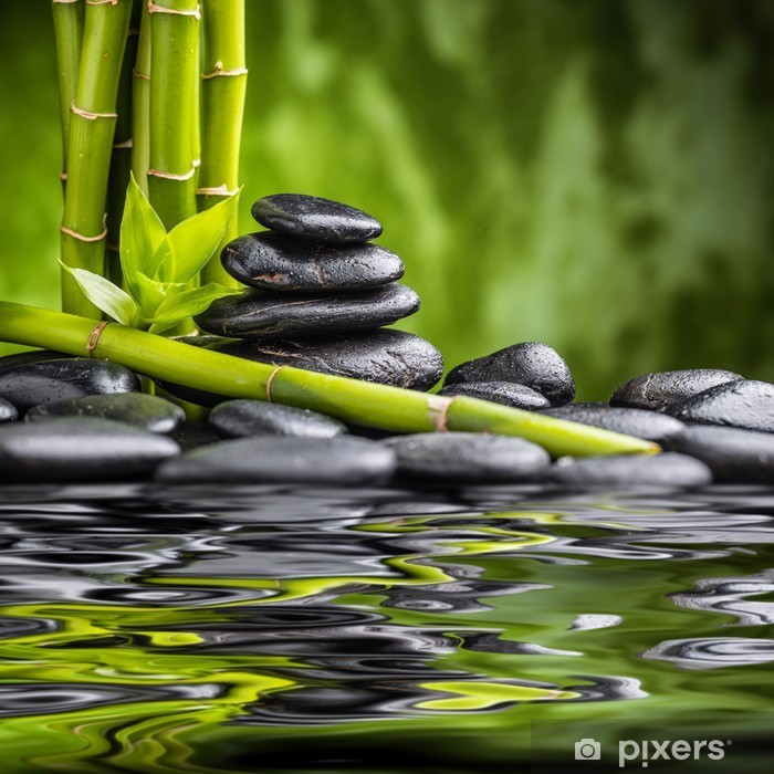 Fototapeta winylowa Zen kamienie - Style