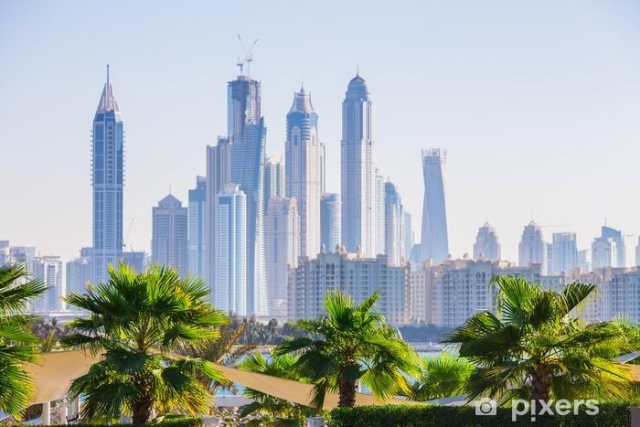 Naklejka Pixerstick Dubai Marina. Zjednoczone Emiraty Arabskie - Inne
