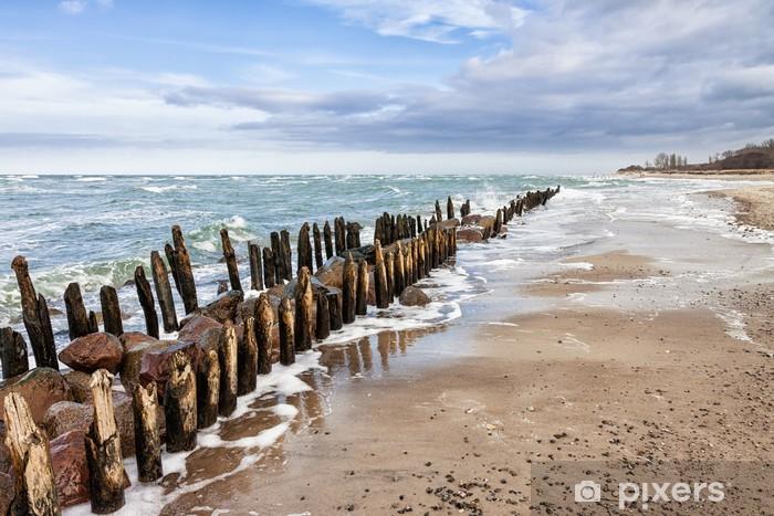 Fototapeta winylowa Ostroga na Bałtyku - Europa