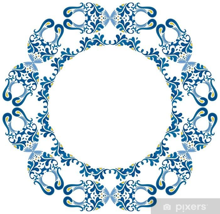 Nálepka Pixerstick Dekorativní kruh - Značky a symboly