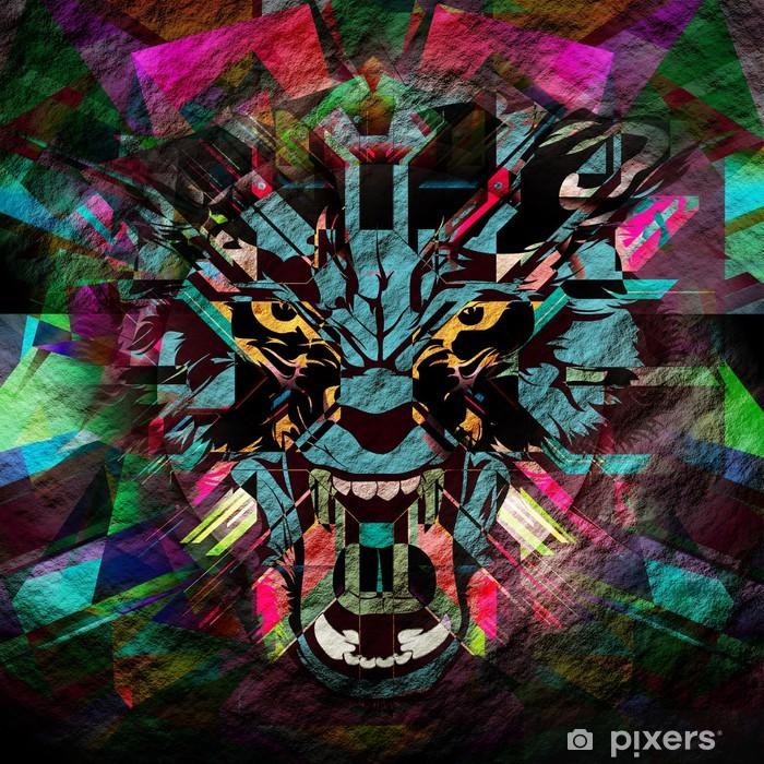 Poster Werwolf - Zeichen und Symbole