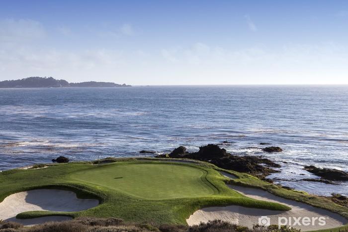 Pebble Beach Golf Course Monterey California Usa Pixerstick Sticker Themes