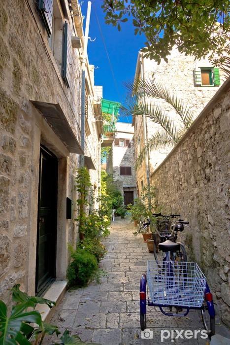 Stari Grad Dar Akdeniz Taş Sokak Duvar Resmi Pixers Haydi