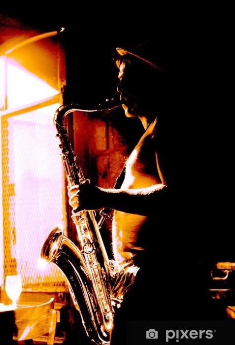 rock atittude Pixerstick Sticker - Jazz