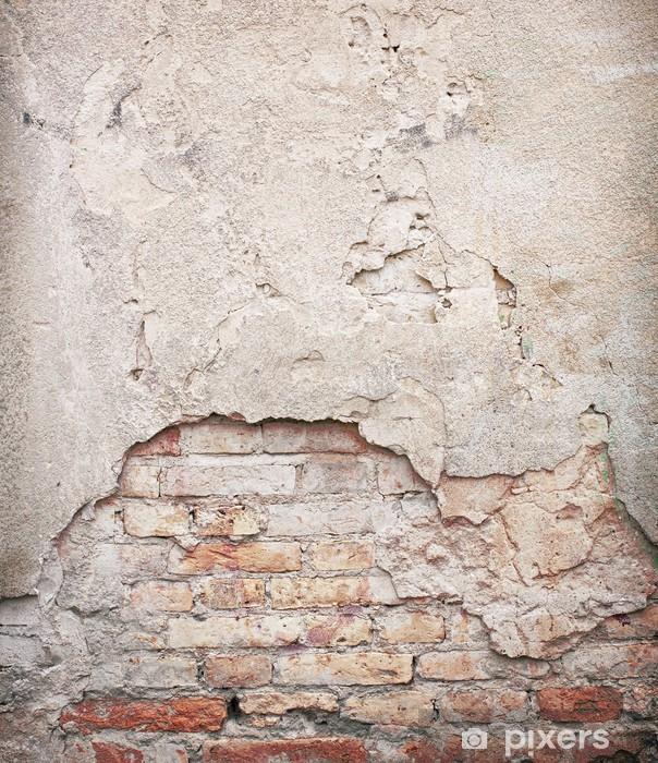 Fototapete Ziegel, Beton Verwittert Grunge-Wand
