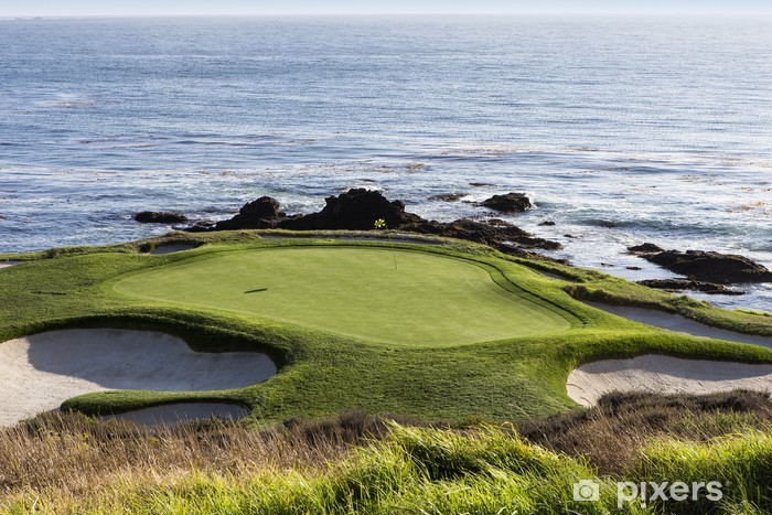 Papier peint vinyle Pebble Beach golf, Monterey, Californie, USA - Sports individuels
