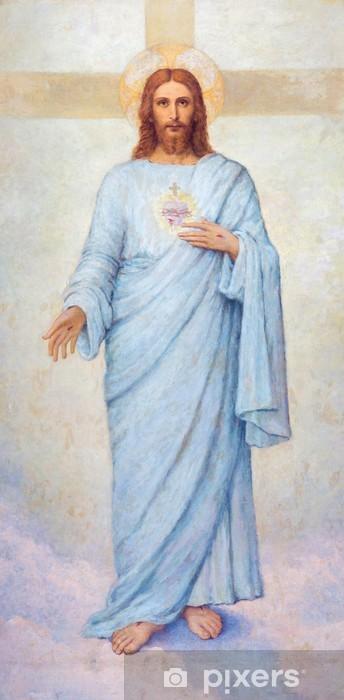 Fototapeta winylowa Padwa - Serca Jezusa Chrystusa w dom farby - Duomo - Tematy